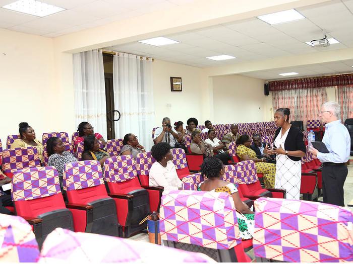 Presentation by the AU team