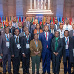Ghana's delegation